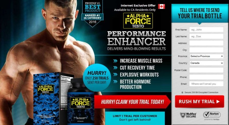 Alpha Force Testo Safe And Natural Don T Buy Without Read
