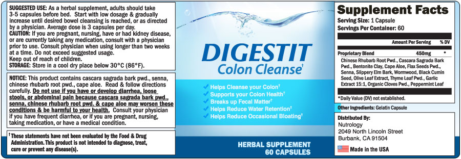 Digestit Colon Cleanse