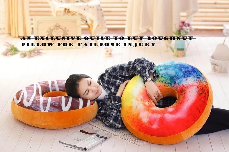 Doughnut Pillow