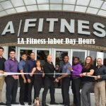 LA fitness labor day hours