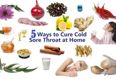 Cure Sore Throat at Home
