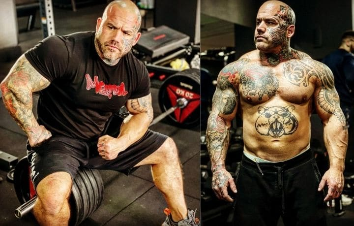 Aarron Lambo bodybuilder