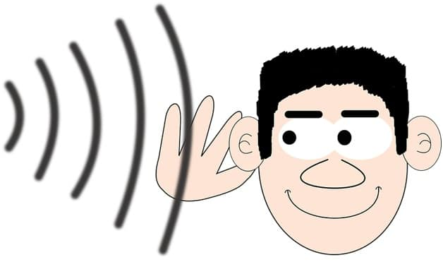 hearing ads